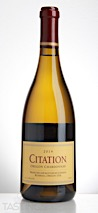Citation 2014  Chardonnay