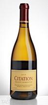 Citation 2014  Chardonnay