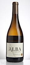 Alba 2015 Chardonnay, Warren Hills