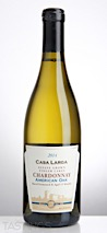 Casa Larga 2014 American Oak Barrel Fermented Chardonnay