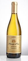 Ménage à Trois 2015 Gold Chardonnay