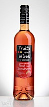 Moncigale NV Fruits & Wine Strawberry and Rosé Sweet Fruit Wine, France