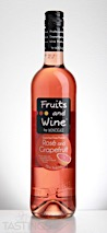 Moncigale NV Fruits & Wine Grapefruit and Rosé Sweet Fruit Wine, France