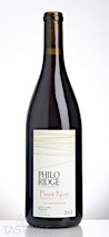 Philo Ridge Vineyards 2012 Marguerite Vineyard Unfiltered Pinot Noir
