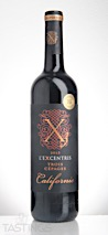 L'Excentris 2015 3 Cépages Rouge California