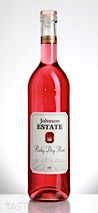 Johnson Estate 2017 Estate Grown Ruby Dry Rosé, Lake Erie