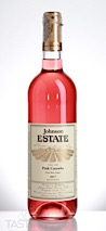 Johnson Estate 2017 Estate Grown Pink Sweet Wine, Catawba, Lake Erie