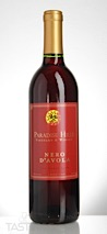 Paradise Hills Vineyard NV  Nero dAvola