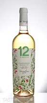 12 e Mezzo 2016 Organic Chardonnay