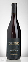 LangeTwins Winery 2016 Estate Grown Pinot Noir