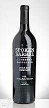 Spoken Barrel 2015  Cabernet Sauvignon