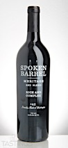 Spoken Barrel 2015 Meritage, Columbia Valley