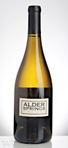 Alder Springs 2013 Apex 39 Single Vineyard Mendocino