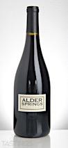 Alder Springs 2013 Kinesis Single Vineyard, Mendocino