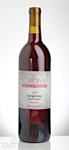 Grove Winery 2015 Estate Grown Sangiovese