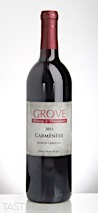 Grove Winery 2015  Carmenere