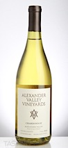 Alexander Valley Vineyards 2016 Estate Grown & Bottled Chardonnay