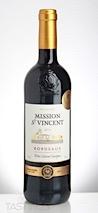 Mission St. Vincent 2015  Merlot-Cabernet Sauvignon
