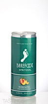 Barefoot Refresh NV Moscato Spritzer, California
