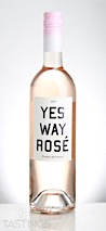 Yes Way Rose 2017 Rosé Mediteranee