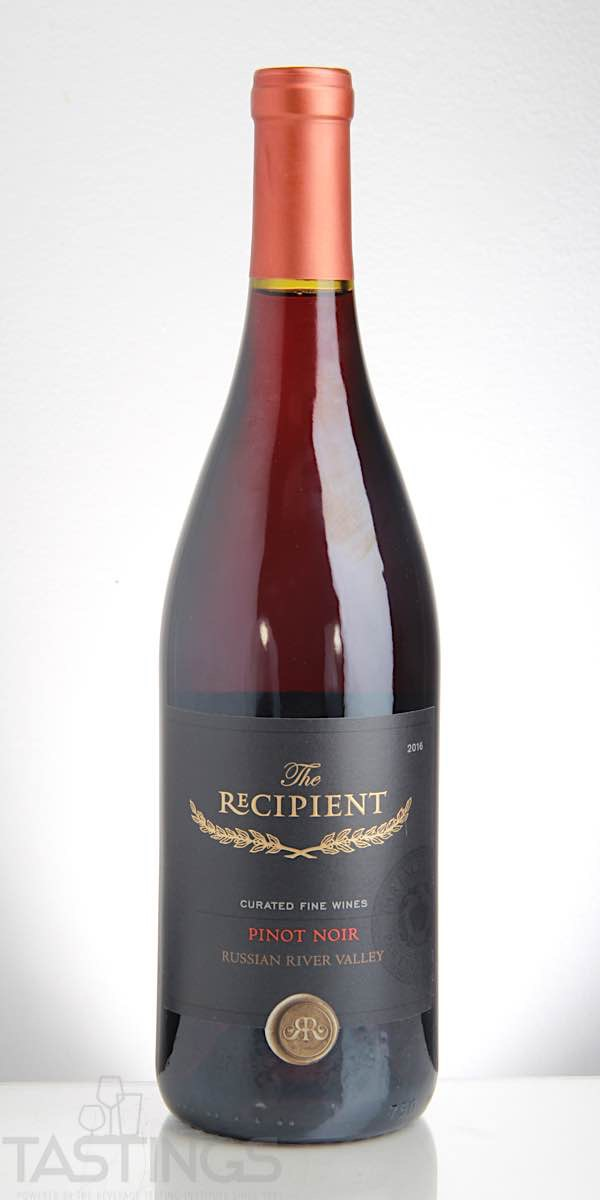 The Recipient 2016 Pinot Noir Russian River Valley Usa