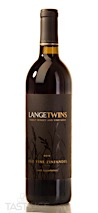 LangeTwins Family Winery and Vineyards 2016 Estate Grown Old Vine, Zinfandel, Lodi