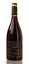 CIRO 2016 Black Edition Red Blend, Tierra de Castilla