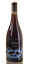 Peace Water 2018 Sublime Pinot Noir