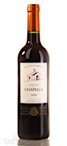 Chateau de la Chapelle 2016 Grand Vin de Bordeaux, Blaye Côtes de Bordeaux