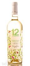 12 e Mezzo 2018 Organic Chardonnay