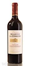 Château Bellevue La Ferriere 2017 Red Blend Castillon Côtes de Bordeaux