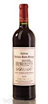 Château Bellevue Saint Georges 2016 Grand Vin de Bordeaux, Saint-Georges-Saint-Emilion