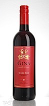 Gina NV Dark Red Flavored Wine, Italy