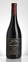 Monte De Oro 2013 Vista Del Monte Vineyard Estate Grown Reserve Syrah