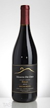 Monte De Oro 2014 Vista Del Monte Vineyard Estate Grown Reserve Syrah