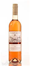 Stone Castle Vineyards and Winery 2018 Rose Pinot Noir