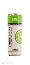 Three Birds NV Lime Hard Seltzer California