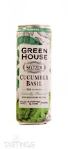 Greenhouse NV Cucumber Basil Hard Seltzer California