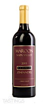 Maroon Wines 2015 Reserve, Zinfandel, Chiles Valley