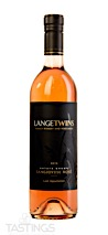 LangeTwins Family Winery and Vineyards 2019 Estate Rosé Sangiovese