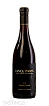 LangeTwins Family Winery and Vineyards 2018  Pinot Noir