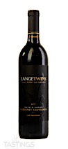 LangeTwins Family Winery and Vineyards 2017 Estate Cabernet Sauvignon