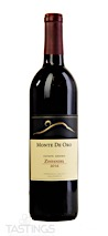 Monte De Oro 2016 Estate Grown Zinfandel