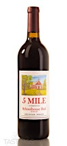 5 Mile NV Schoolhouse Red Blend Washington