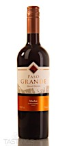Paso Grande 2019 Special Selection, Merlot, Central Valley