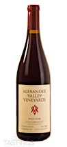 Alexander Valley Vineyards 2018 Estate, Pinot Noir, Alexander Valley