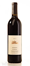 Cedar Mountain 2017 Sblendorio Vineyard Reserve, Primitivo, Livermore Valley