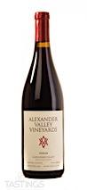 Alexander Valley Vineyards 2018 Estate Syrah