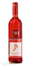 Barefoot NV Red Moscato, California