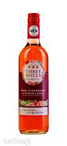 Three Mills  Botanicals Rose, Strawberry & Elderflower Flavored Wine